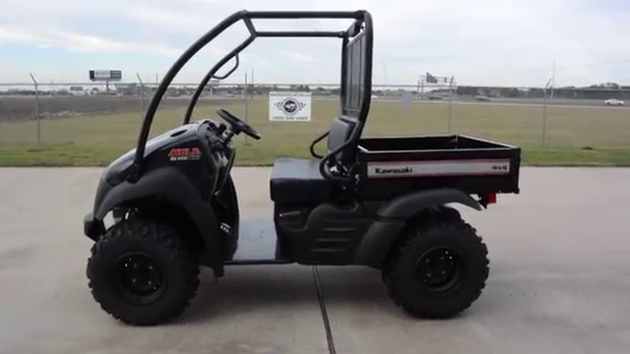 $8,099: 2016 Kawasaki Mule 610 XC Super Black Overview and Review