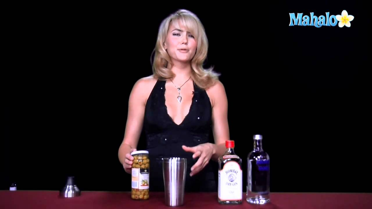 how to make an extra dirty martini