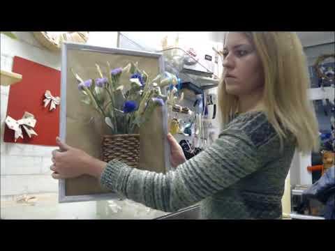 Как сделать картину из сухоцветов своими руками