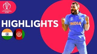 India v Afghanistan - Match Highlights | ICC Cricket World Cup 2019