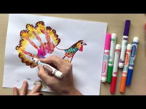 Art Lesson TURKEY For Kids With Natalka Barvinok