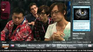 World Magic Cup 2012 Finals: Chinese Taipei vs. Puerto Rico