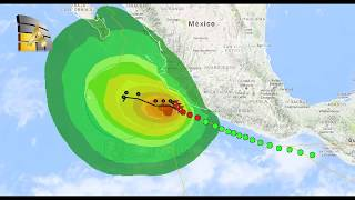 Tormenta Tara y frente frío  Afecta a México