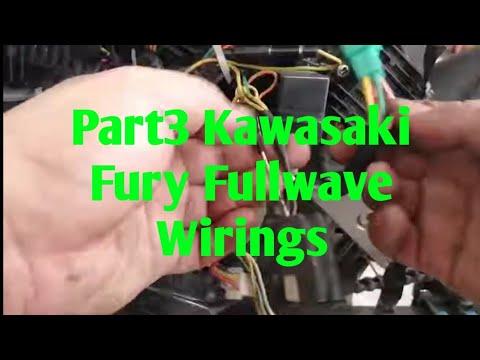 Kawasaki fury 125 fullwave Wiring Part 3 - YouTubeYouTube
