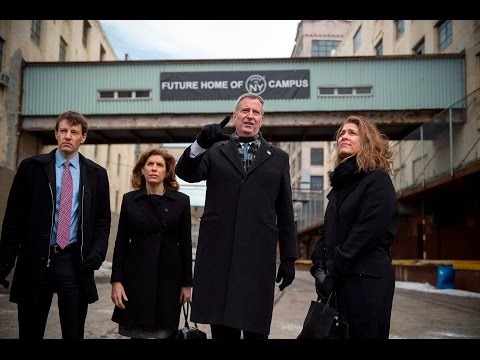 Mayor de Blasio Creates Made in NY Manufacturing Campus in Brooklyn