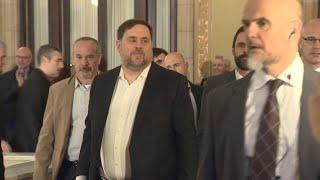 La Generalitat concede el tercer grado a los líderes independentistas en prisión