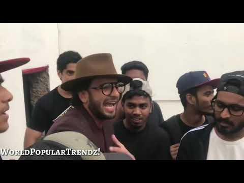 Divine, Emiway & Other Underground Indian Rappers Supported by Ranveer Singh | Mumbai Cypher