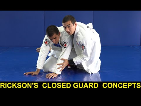 Rickson's Invisible(until now) Closed Guard Concepts by Pedro Elias