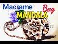 Mandala macrame bag part 1 ( Tutorial tas tali kur