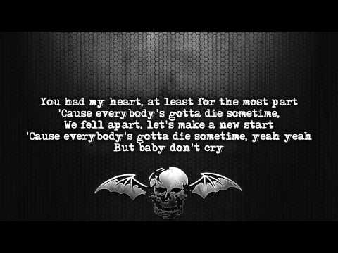 Avenged Sevenfold  A Little Piece Of Heaven Lyrics  screen Full HD
