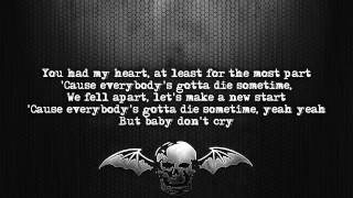 Avenged Sevenfold - A Little Piece Of Heaven [Lyrics on screen] [Full HD]