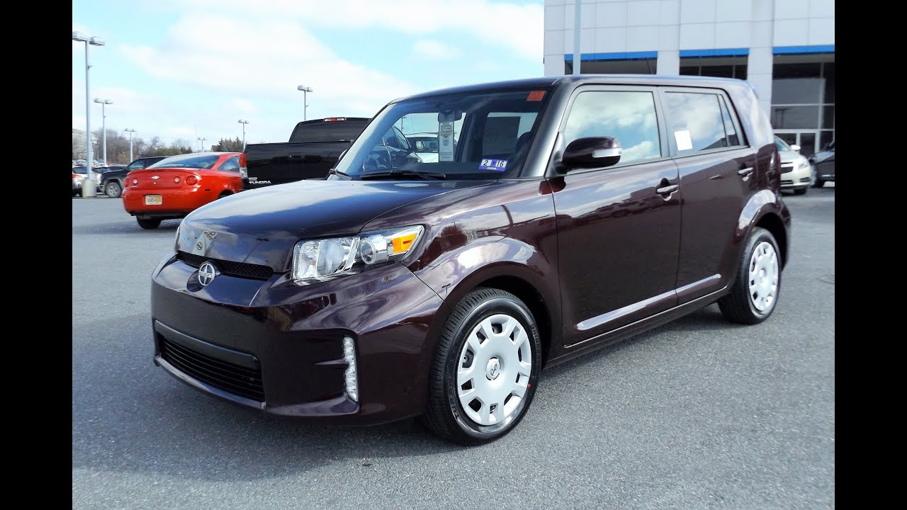 2015 Scion xB Start Up, Tour and Review - YouTube