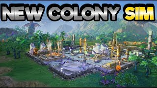 Aven Colony - Colonizing Terra! - Let's Play Aven Colony Gameplay