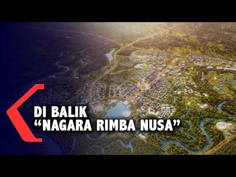 Di Balik 'Nagara Rimba Nusa' Juara Sayembara Desain Ibu Kota Baru