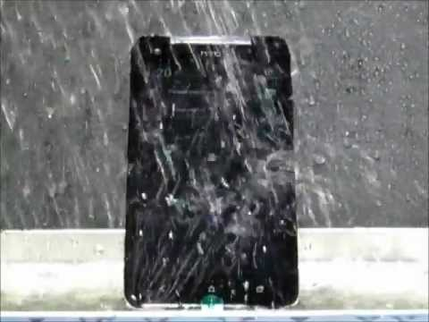 HTC Butterfly Water Resistant Test