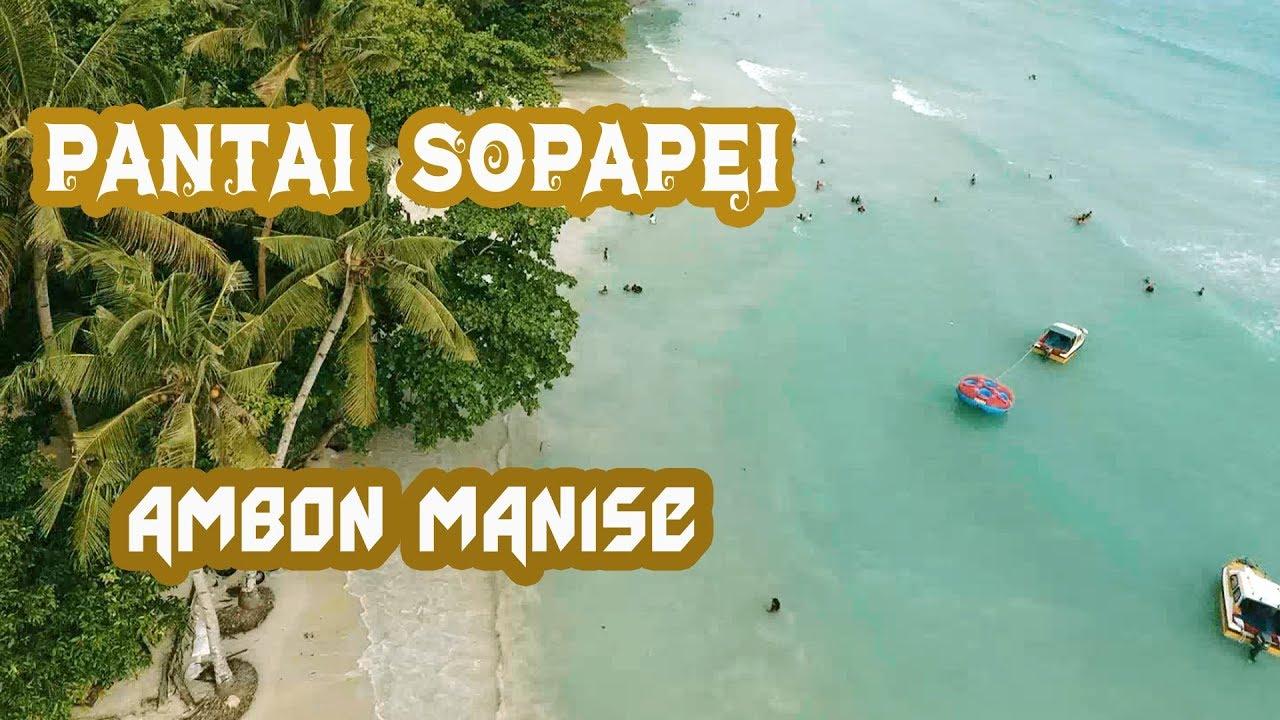 Pantai Sopapei Ambon Manise Youtube