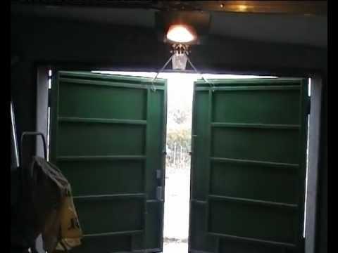Ворота автоматические для гаража самодельные