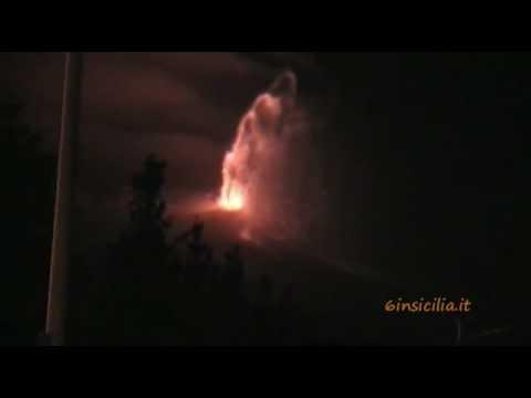 eruzione etna