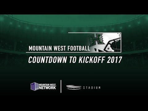Hawai'i Rainbow Warriors Countdown To Kickoff 2017