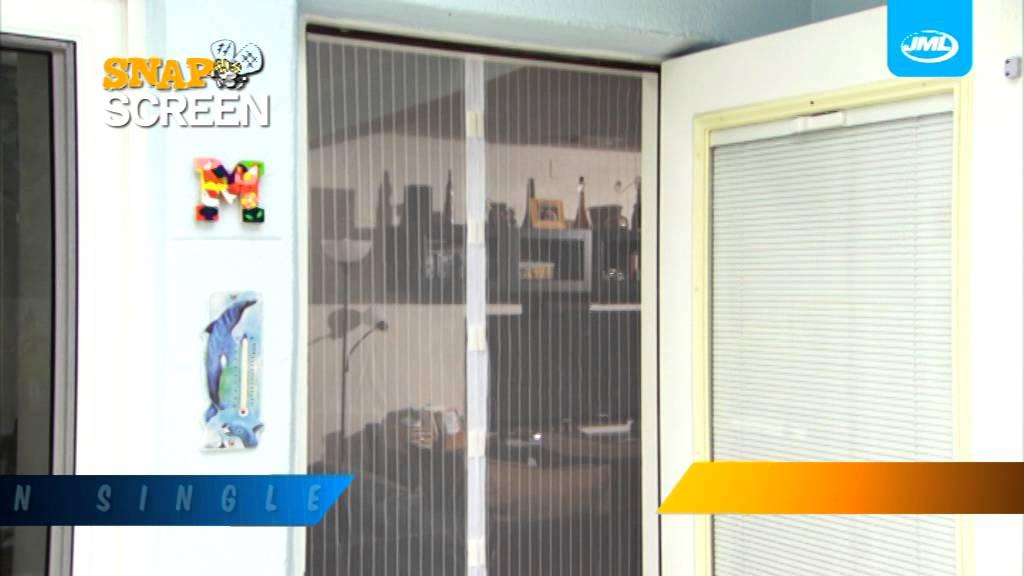 Turfliegengitter Mit Magnetverschluss Snap Screen Youtube