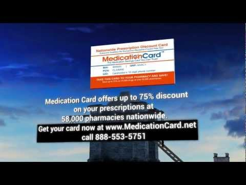 Prescription Discount Card by MedicationCard.org - Save up to 85% on Your Meds