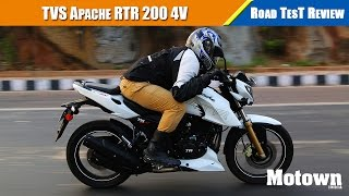 tvs apache rtr 200   road test review   motown india