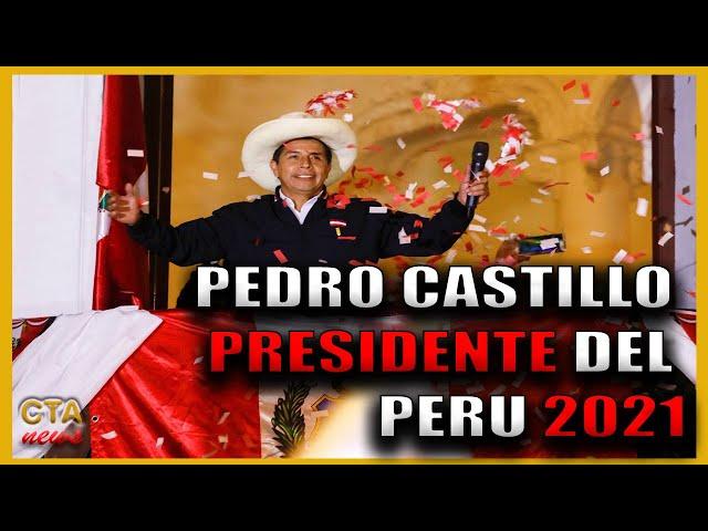PEDRO CASTILLO es Proclamado 🇵🇪 PRESIDENTE 2021