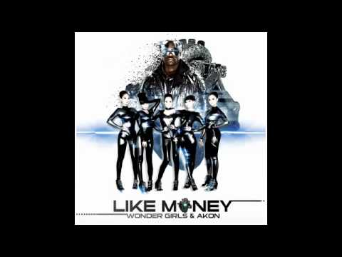 Клип Wonder Girls - Like Money (feat. Akon)