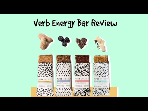 Verb Energy Bars Review