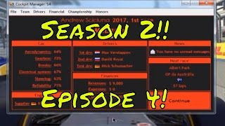Cockpit Manager 2016 Episode 4 - The start of Season 2!