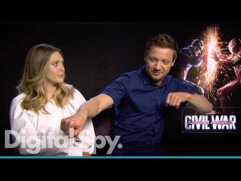 Captain America: Civil War - Paul Rudd, Elizabeth Olsen, Jeremy Renner, Paul Bettany & the Russos