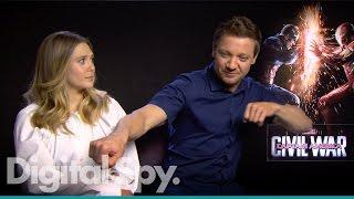 Captain America: Civil War - Paul Rudd, Elizabeth Olsen, Jeremy Renner, Paul Bettany & the Russos