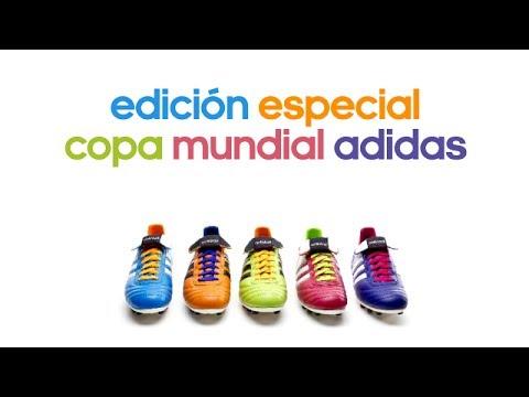 apetito cascada Independientemente  Edición especial adidas Copa Mundial en Soloporteros - YouTube
