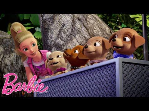 приключения щенка | Барби и щенки в поисках сокровищ | Barbie Россия 3+