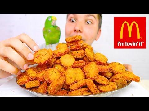 100 Chicken Nugget Challenge • MUKBANG