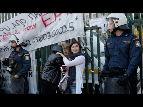 ERT occupiers evicted by Greek police
