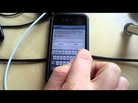 """Open With"""" in iOS PhoneGap Apps 