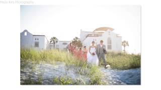 Ashley + David wedding picture slideshow. Casa Marina, Jacksonville Beach, FL