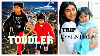 Whats in my toddler travel bag |  Travelling with Kids | What to pack for toddler