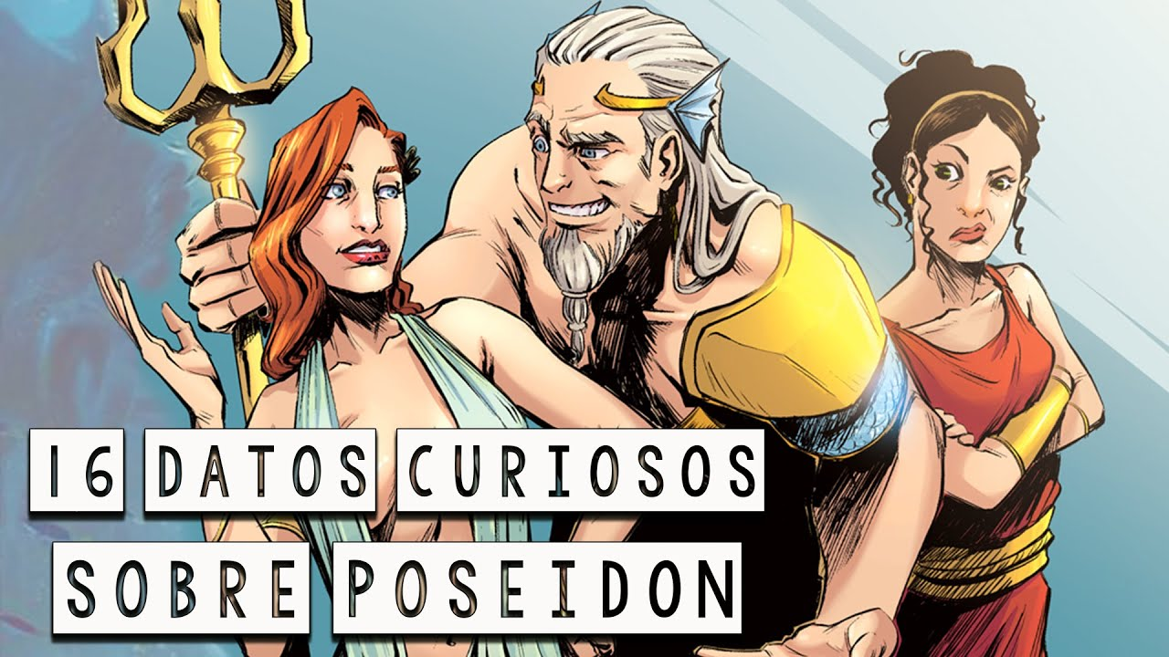 16 Datos Curiosos sobre Poseidón - Mitología Griega - Mira la Historia