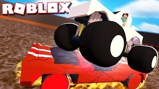 Roblox Adventures - CRUSHING CARS WITH A MONSTER TRUCK IN ROBLOX! (Car Crushers 2.0 Beta)