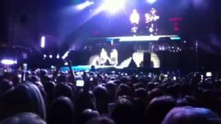 Justin Bieber live in Johannesburg from the Golden Circle