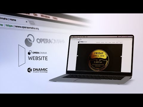 Opera Omaha Website Redesign and Development