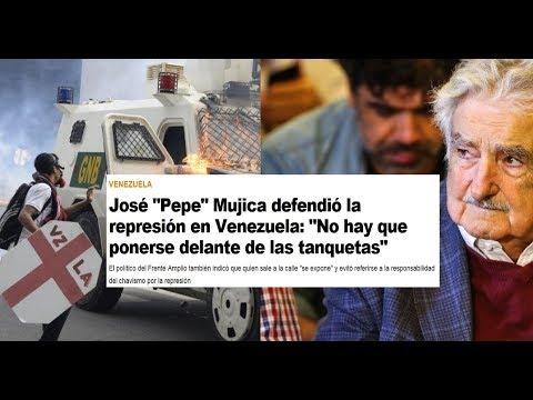 Mujica no es capaz de reconocer el régimen asesino de Maduro.