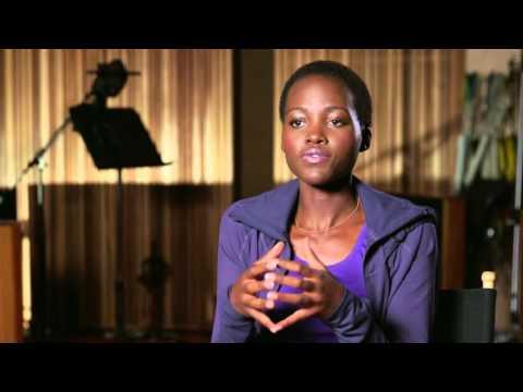 """The Jungle Book: Lupita Nyong'o """"Raksha"""" Behind the Scenes Movie Interview"""
