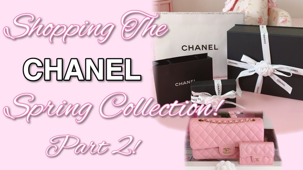 0f3d787f4993 💗Chanel 19S Shop & Unboxing! Part 2! 💗 - YouTube