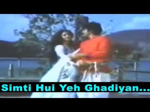 Simti Hui Yeh Ghadiyan 1 - Lata Mangeshkar, Mohammed Rafi @ Chambal Ki Kasam
