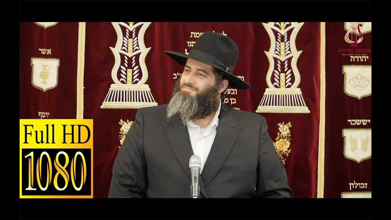 הרב רונן שאולוב בשיעור מחזק ביותר על מעלת וסגולת היסורים באהבה שמאריכים ימים - תל אביב 10-10-2018