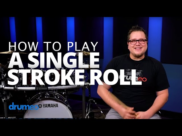Single Stroke Roll - Drum Rudiment Lesson (Drumeo)