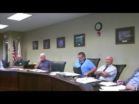 massena town meeting august 2017